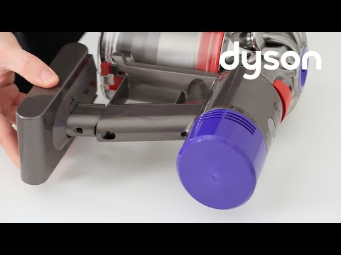 Dyson V7 and V8 cord-free vacuums - Replacing the battery (IN)