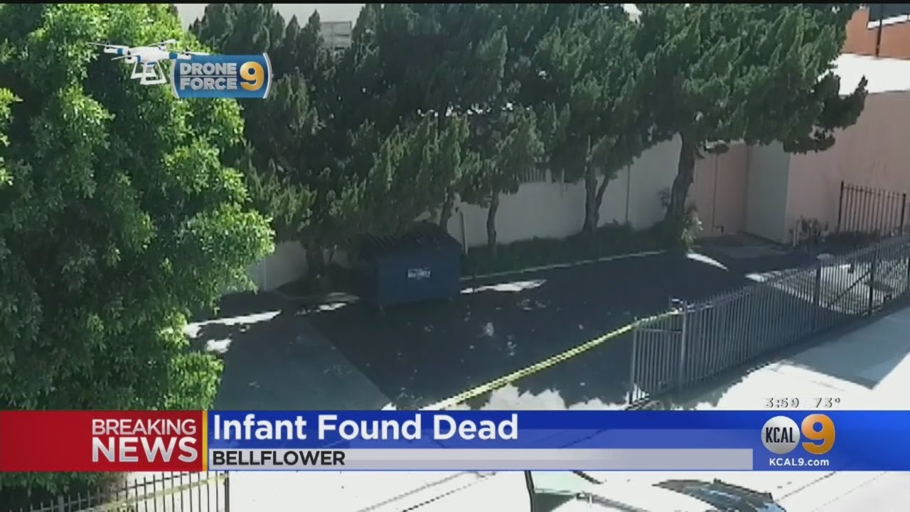 Dead Infant Found Behind Building In Bellflower
