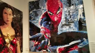 ART EXPO NEW YORK EXHIBIT ARTISTS GALLERY NY NYC 2019  PAINTINGS ARTIST PAINTING DIGITAL ILLUSTRATOR