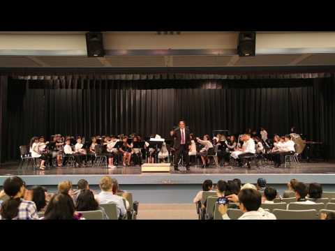 2017 Music In The Park school band competition, Curtner Elementary School