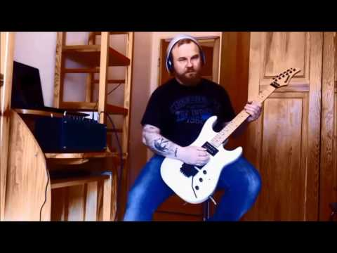 """Gary Moore """"After The War"""" guitar cover"""