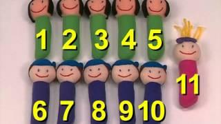 Гениальный ребенок( счет от 1 до 20)