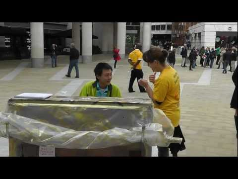 Street Piano 2012, Paternoster Square