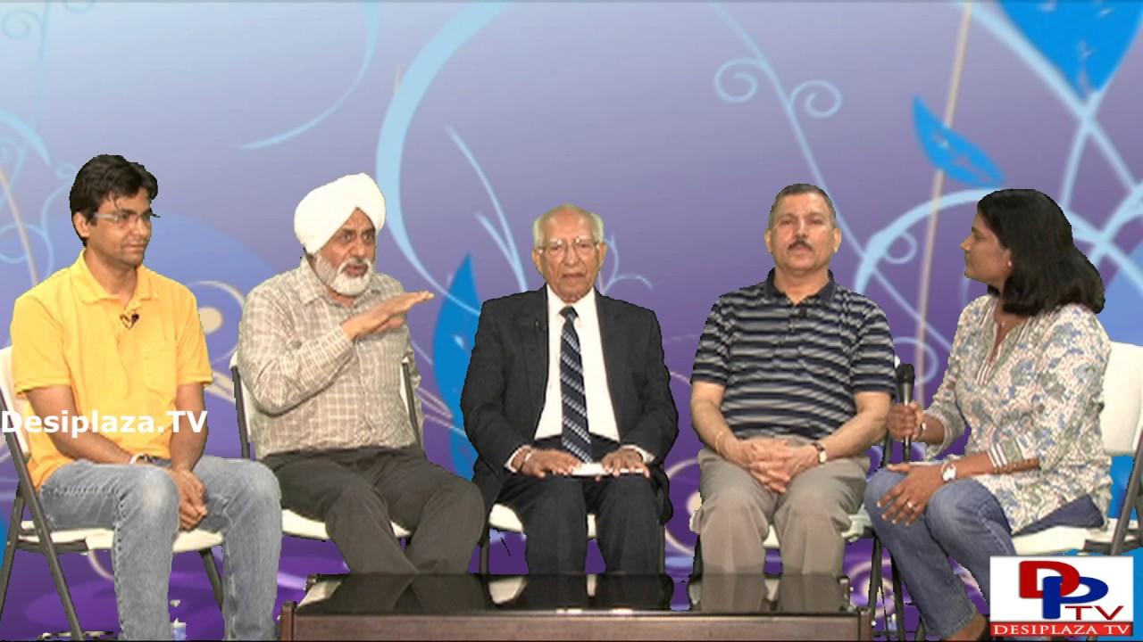 Part 3. Dr.Shivraj Tyagi of Sant Nirankari Mission giving interview to Desiplaza TV