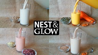 Seed Milk 4 Recipes | no music
