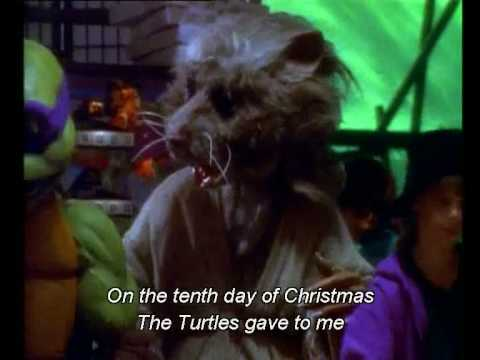 Splinter's 12 Days of Christmas (karaoke) - YouTube