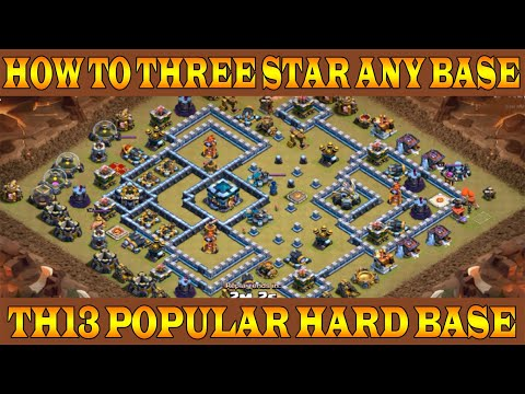 💪How To Three Star Any TH13 Base 💪TH13 Popular Base 3 Star Attack Strategy 2020 | Clash Of Clans