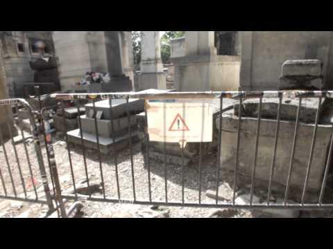 Jim Morrison's Grave Père Lachaise Cemetery - Directed by Angellos Ioannis Malefakis