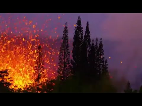 Hawaii volcano: Civil Defence broadcast (Mon May 14th)