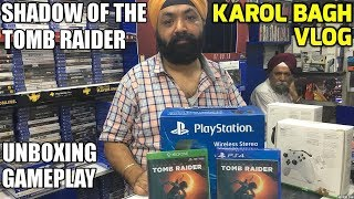 Shadow of the TOMB RAIDER Unboxing+Gameplay | HINDI |