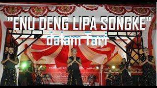 ENU DENG LIPA SONGKE Dalam Tari Lagu Daerah Manggarai