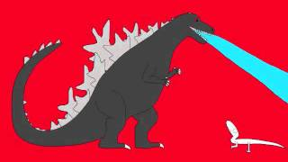 JoAnn meets Godzilla