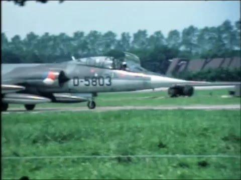 F-104 Starfighter @ Volkel Air Base Netherlands 1979 - 1984