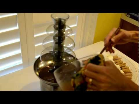 Nostalgia 3 Tier Chocolate Fountain Review - purchased on Amazon