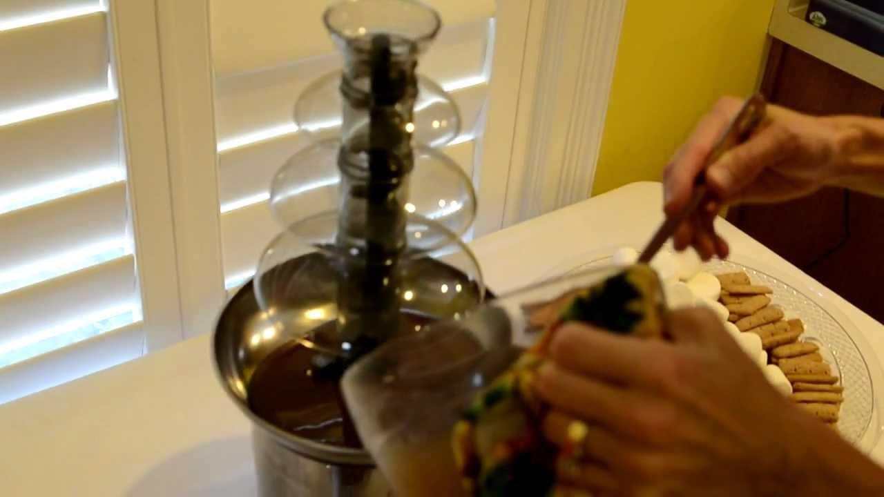 Sephra Chocolate Fountain Review - ricktouchstone.com