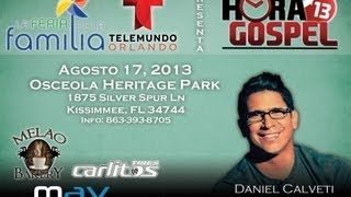 Daniel Calveti Feria de la Familia 2013 Telemundo Orlando