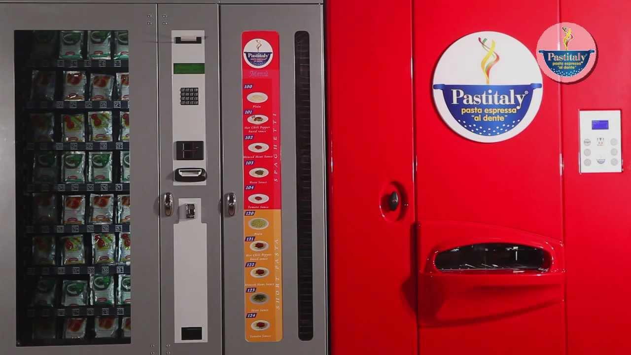 Pasta Vending Machine Pastitaly - english version - YouTube
