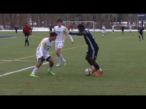 Ousseni Bouda Senior Year High School Soccer Highlight Video.