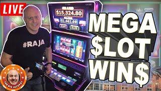 🔴 LIVE Vegas Warm-Up Show 🎰Mega Slot Jackpots!   The Big Jackpot
