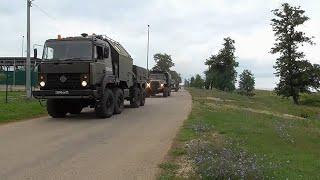 Выход боевой техники: кадры масштабной внезапной проверки готовности войск