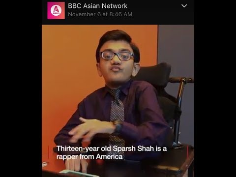 Sparsh Shah's Interview Brief on BBC Asia Network Radio in London, UK