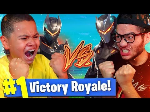 REMATCH! 1V1 MINDOFREZ VS 9 YEAR OLD BROTHER! OMG HE WON!?? FORTNITE BATTLE ROYALE *NEW* PLAYGROUND!