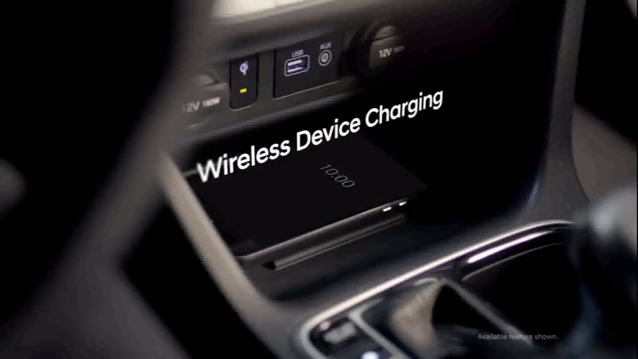 2018 Hyundai Sonata With Wireless Cell Phone Charging
