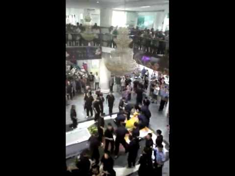 Remember the Chinese lady that died in the escalator incident? Here's what happened in the funeral