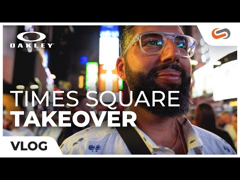 how-oakley-took-over-nyc-times-square-||-sportrx-vlog