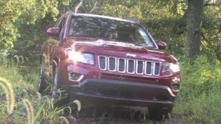 2014 Jeep Compass 4x4 Limited Test Drive & Compact Crossover SUV Video Review(The Jeep Compass debuted back in 2007 and since that time this compact crossover SUV has been getting better and better. New for 2014 is a 6-speed ..., 2013-09-24T20:18:17.000Z)