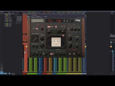 U-he Presswerk Parallel Compressing Heavy Drums
