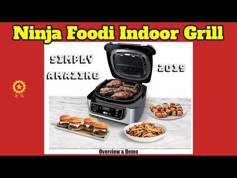 ninja-foodi-4-in-1-indoor,-grill-overview-&-demo-2019
