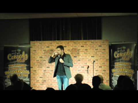 Filmed at Hot Water Comedy Club, Liverpool