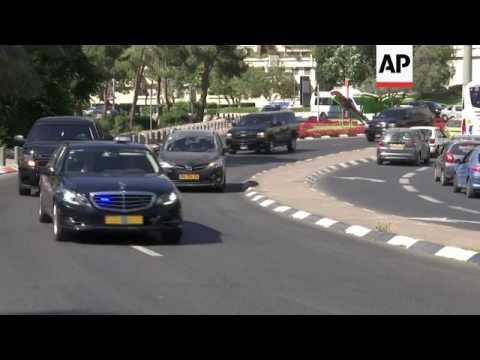Kushner in Jerusalem in bid to restart peace talks
