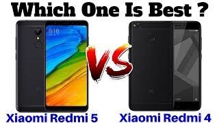 Xiaomi Redmi 5 Vs Xiaomi Redmi 4 | Which One Is Best ??