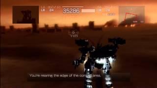 Armored Core 4 Desert Wolf Hard S Rank
