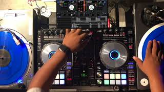 Pioneer DDJ SR2 with DVS on Serato DJ 1.9.9