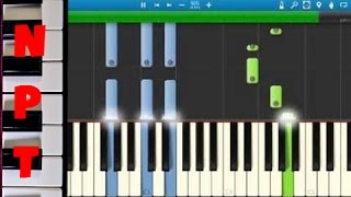 Little Mix - Hair - Piano Tutorial - How to play Hair on piano - Synthesia Piano Cover