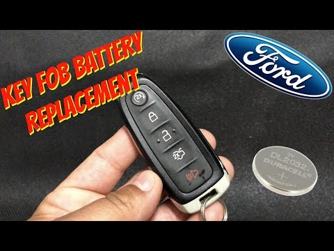 Ford Key Fob Battery Replacement - Focus, Escape, Explorer, Expedition, Edge