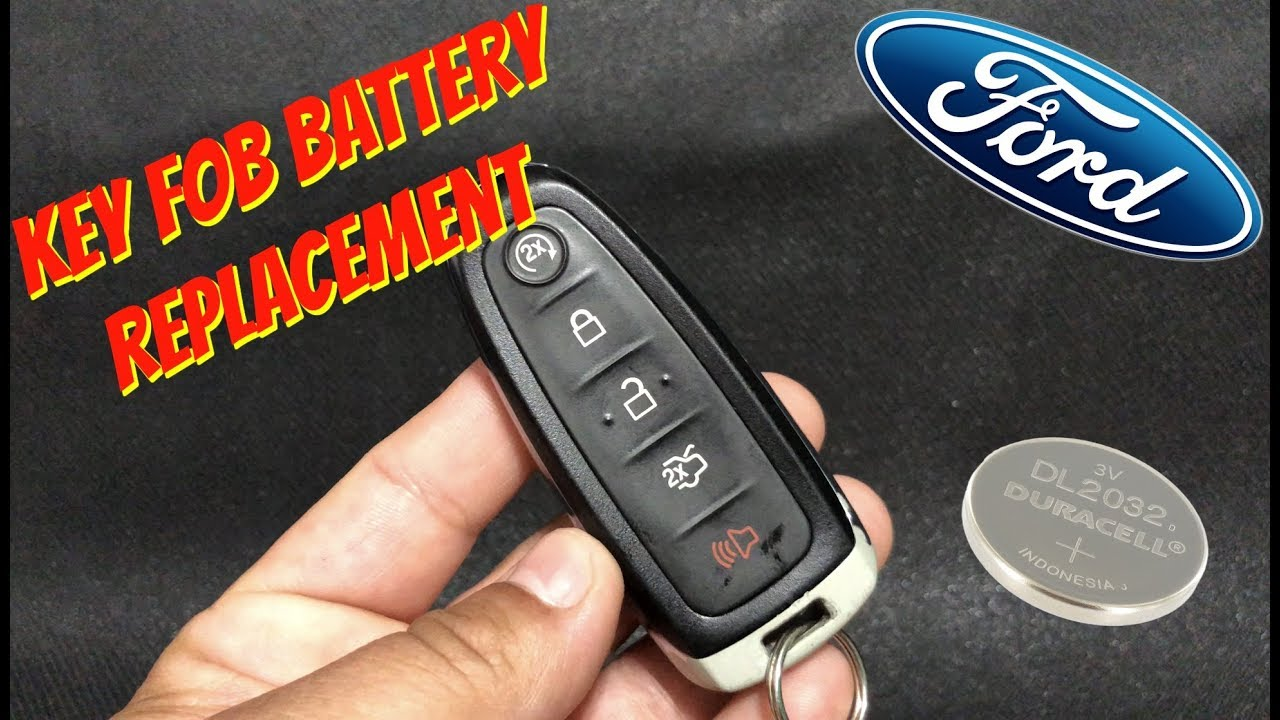 Ford Key Fob Battery Replacement Focus Escape Explorer Expedition Edge