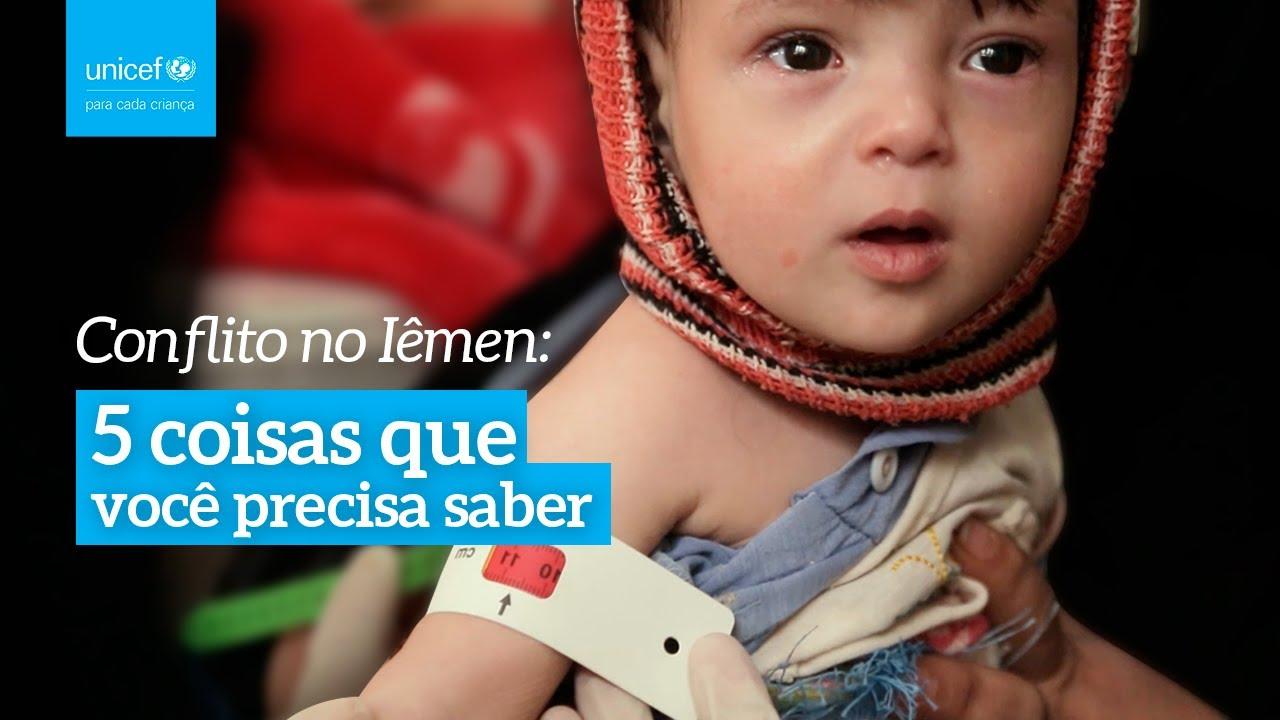 5 coisas que você precisa saber sobre a infância no Iêmen | UNICEF Brasil