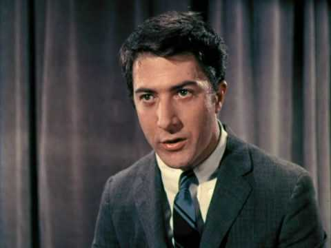 Dustin Hoffman - Personality & Stock Test 1966 (RARE ...