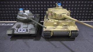 Переделка Тигра В Инфракрасный Бой ... Р/У Танк Taigen German Tiger I Kit