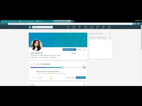 How To Extract Emails From LinkedIn by using SignalHire LinkedIn email finder Chrome extension