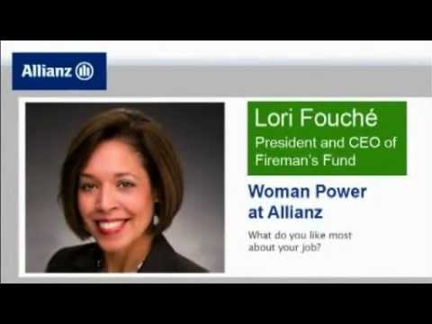 Get To Know Top Women At Allianz - Lori Dickerson-Fouché