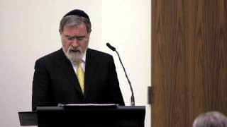 Rabbi Jonathan Sacks at the Catholic Center at NYU, Part III