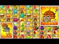 Every Plant Power UP in Plants vs Zombies 2 All Plants vs Disco Tron 3000 Max Challenge PVZ 2