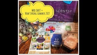 Wax CHAT - Scentsy New Spring Summer Catalog + Scents 2019 / World Tour / BBMB
