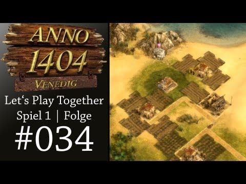 Let's Play Together Anno 1404 Venedig #S1E34 - Ausbau Süd [Deutsch|Ultra|1080p]