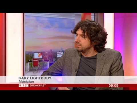 Gary Lightbody Interview BBC Breakfast 2013